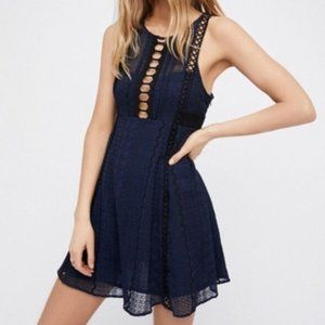 NWT Free People Lace Detail Dress